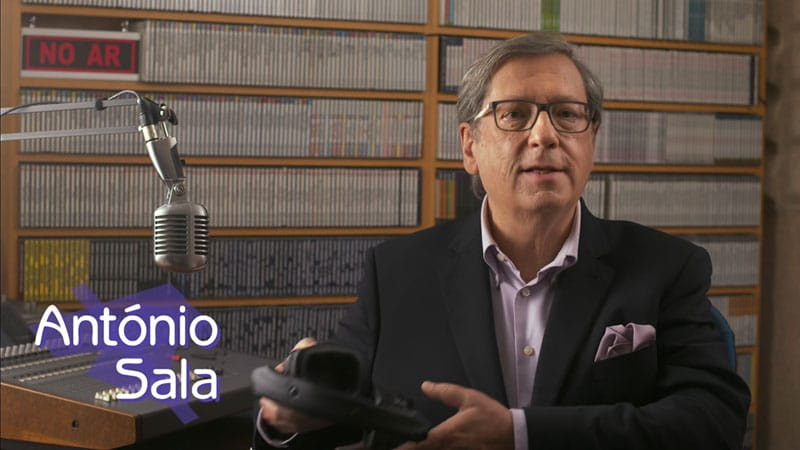 Antonio Sala regresso de uma das vozes mais marcantes do pais