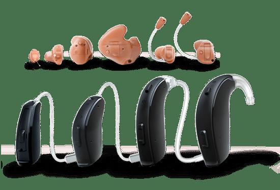 variedade de preços de aparelhos auditivos