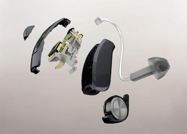 Aparelho auditivo tecnologia