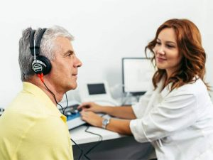 Avaliação auditiva